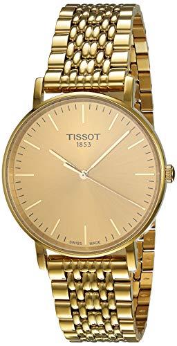 ティソ 腕時計 メンズ T1094103302100 【送料無料】Tissot T-Classic Everytime Gold Dial Mens Watch T109.410.33.021.00ティソ 腕時計 メンズ T1094103302100