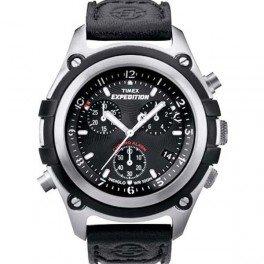タイメックス 腕時計 メンズ T49745 Timex Expedition Chronograph Black Dial Men's Watch - T49745タイメックス 腕時計 メンズ T49745