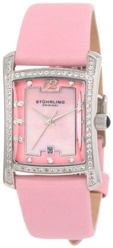 ストゥーリングオリジナル 腕時計 レディース 145CL.1215A9 Stuhrling Original Women's 145CL.1215A9 Classic Gatsby La Femme Swiss Quartz Mother of Pearl Date Watchストゥーリングオリジナル 腕時計 レディース 145CL.1215A9