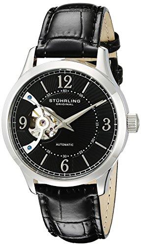 ストゥーリングオリジナル 腕時計 メンズ 987.02 【送料無料】Stuhrling Original Men's 987.02 Legacy Analog Display Automatic Self Wind Black Watchストゥーリングオリジナル 腕時計 メンズ 987.02