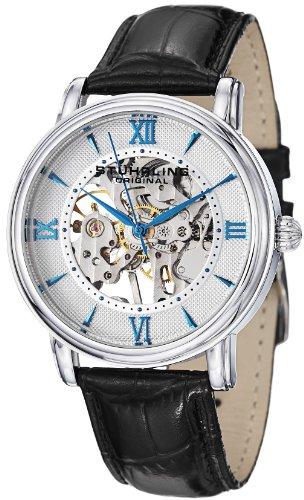 ストゥーリングオリジナル 腕時計 メンズ 458G2.33152SET 【送料無料】Stuhrling Original Men's 458G2.33152SET Classic Delphi Chamberlain Skeleton Silver Dial Watch Setストゥーリングオリジナル 腕時計 メンズ 458G2.33152SET