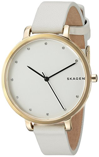 スカーゲン 腕時計 レディース SKW2578 Skagen Women's SKW2578 Hagen White Leather Watchスカーゲン 腕時計 レディース SKW2578