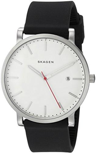 スカーゲン 腕時計 メンズ SKW6340 【送料無料】Skagen Men's SKW6340 Hagen Black Silicone Watchスカーゲン 腕時計 メンズ SKW6340
