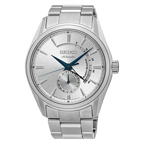 セイコー 腕時計 メンズ SSA303J1 【送料無料】SEIKO Steel Silver Men Presage SSA303J1 reserve indicatorセイコー 腕時計 メンズ SSA303J1