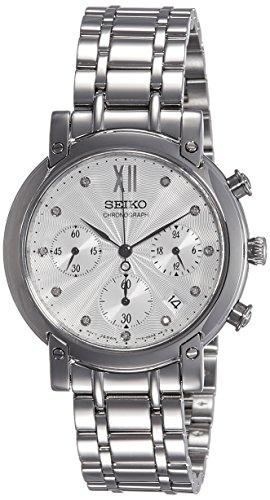 セイコー 腕時計 レディース SRW837P1 【送料無料】SEIKO Neo Sports SRW837P1 Women Silver Steel Chronographセイコー 腕時計 レディース SRW837P1