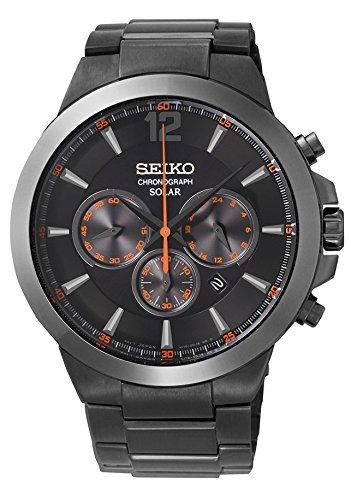 セイコー 腕時計 メンズ SSC323 Seiko Men's SSC323 Analog Display Analog Quartz Black Watchセイコー 腕時計 メンズ SSC323