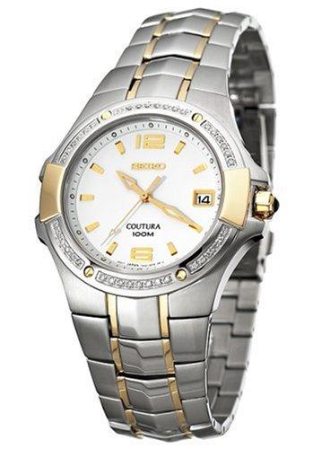 セイコー 腕時計 メンズ SGED28 【送料無料】Seiko Men's SGED28 Coutura Diamond Watchセイコー 腕時計 メンズ SGED28