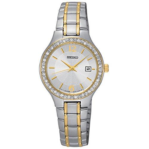 腕時計 セイコー レディース Seiko 【送料無料】Seiko Silver Dial Stainless Steel Ladies Watch SUR752腕時計 セイコー レディース Seiko