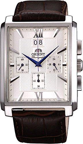 オリエント 腕時計 メンズ TVAA004S ORIENT Classic Quartz Chronograph Blue Hands Watch FTVAA004Sオリエント 腕時計 メンズ TVAA004S