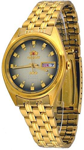 オリエント 腕時計 メンズ FAB00001P 【送料無料】Orient FAB00001P Men's 3 Star Standard Gold Tone Brown Dial Automatic Watchオリエント 腕時計 メンズ FAB00001P