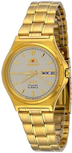 オリエント 腕時計 メンズ FAB02002C 【送料無料】Orient FAB02002C Men's 3 Star Standard Gold Tone Gold Dial Automatic Watchオリエント 腕時計 メンズ FAB02002C