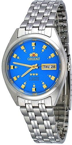 オリエント 腕時計 メンズ FAB00009L 【送料無料】Orient FAB00009L Men's 3 Star Stainless Steel Blue Dial Self Wind Automatic Watchオリエント 腕時計 メンズ FAB00009L