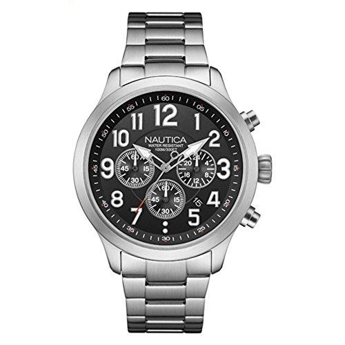 ノーティカ 腕時計 メンズ NAI16515G Nautica Stainless Steel Mens Watch NAI16515Gノーティカ 腕時計 メンズ NAI16515G