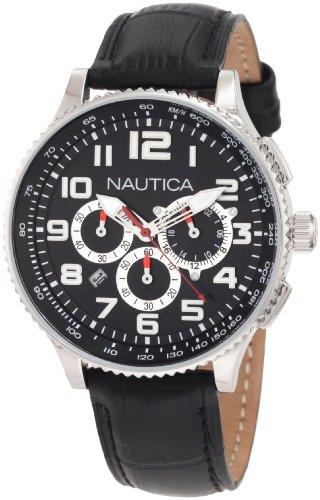 腕時計 ノーティカ メンズ N22596M 【送料無料】Nautica Men's N22596M OCN 38 MID Br. Chronograph Watch腕時計 ノーティカ メンズ N22596M