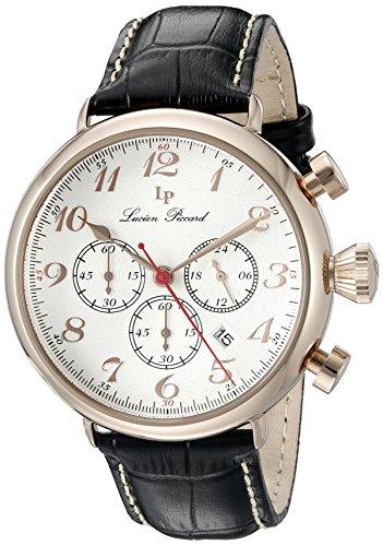 ルシアンピカール 腕時計 メンズ LP-72415-RG-02S Lucien Piccard Trieste GMT Chronograph Men's Watch 72415-RG-02Sルシアンピカール 腕時計 メンズ LP-72415-RG-02S