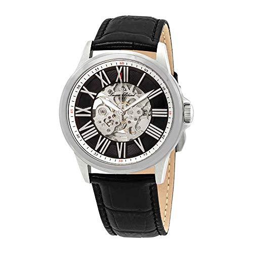 ルシアンピカール 腕時計 メンズ LP-12683A-01 Lucien Piccard Men's 'Calypso' Automatic Stainless Steel and Black Leather Casual Watch (Model: LP-12683A-01)ルシアンピカール 腕時計 メンズ LP-12683A-01