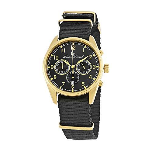 腕時計 ルシアンピカール メンズ LP-10588N-YG-01 【送料無料】Lucien Piccard Moderna Chronograph Men's Watch 10588N-YG-01腕時計 ルシアンピカール メンズ LP-10588N-YG-01