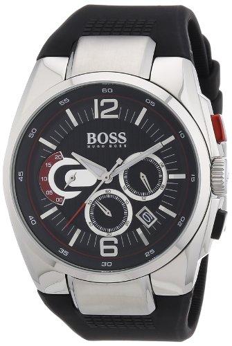 ヒューゴボス 高級腕時計 メンズ 1512735 【送料無料】Hugo Boss Black 1512735 Chronograph Men's Watchヒューゴボス 高級腕時計 メンズ 1512735