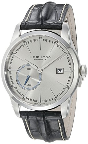 ハミルトン 腕時計 メンズ H40515781 【送料無料】Hamilton Men's Timeless Classic Stainless Steel Swiss-Automatic Watch with Leather Calfskin Strap, Black, 20 (Model: H40515781)ハミルトン 腕時計 メンズ H40515781