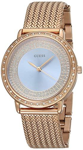ゲス GUESS 腕時計 レディース W0836L1 Watch Guess Women Blue Willow W0836L1 rose gold plated steelゲス GUESS 腕時計 レディース W0836L1