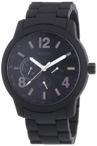 ゲス GUESS 腕時計 メンズ Mens Trend Multifunktion Guess W0185G1 Mens Multifunction Black Watchゲス GUESS 腕時計 メンズ Mens Trend Multifunktion