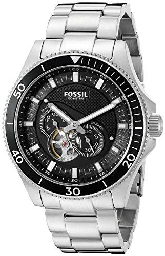フォッシル 腕時計 メンズ ME3090 Fossil Men's ME3090 Analog Display Automatic Self Wind Silver Watchフォッシル 腕時計 メンズ ME3090