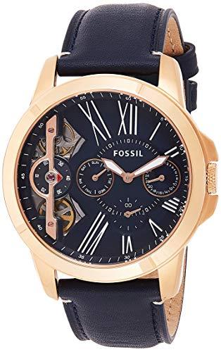 フォッシル 腕時計 メンズ ME1162 Fossil Mens ME1162 Grant Twist Three-Hand Blue Leather Watchフォッシル 腕時計 メンズ ME1162