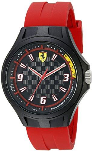 フェラーリ 腕時計 メンズ 830282 Ferrari Men's 0830285 Pit Crew Analog Display Quartz Black Watchフェラーリ 腕時計 メンズ 830282