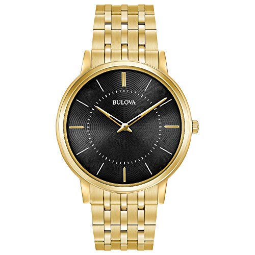 ブローバ 腕時計 メンズ 97A127 【送料無料】Bulova Men's Analog-Quartz Watch with Stainless-Steel Strap, Gold (Model: 97A127)ブローバ 腕時計 メンズ 97A127