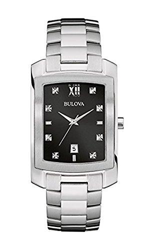 ブローバ 腕時計 メンズ 96D125 Bulova Men's Quartz Watch with Stainless-Steel Strap, Silver, 20 (Model: 96D125)ブローバ 腕時計 メンズ 96D125