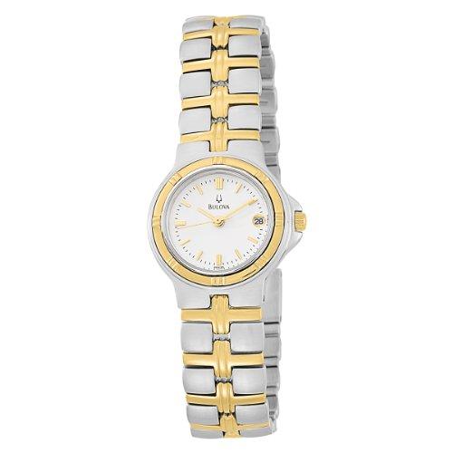 ブローバ 腕時計 レディース 98M36 Bulova Women's 98M36 Two-Tone Bracelet Watchブローバ 腕時計 レディース 98M36