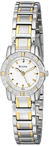 ブローバ 腕時計 レディース 98R155 【送料無料】Bulova Women's 98R155 Highbridge Diamond Watchブローバ 腕時計 レディース 98R155