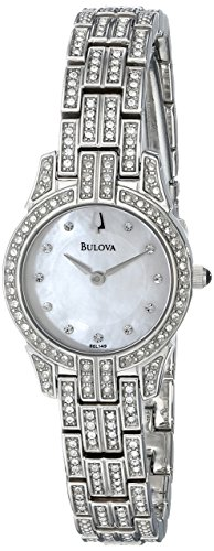 """ブローバ 腕時計 レディース 96L149 【送料無料】Bulova Women""""s 96L149 Crystal Round Watchブローバ 腕時計 レディース 96L149"""