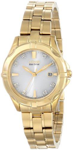 シチズン 逆輸入 海外モデル 海外限定 アメリカ直輸入 EW1932-54A 【送料無料】Citizen Eco-Drive Women's EW1932-54A Stainless Steel Watch with Diamondsシチズン 逆輸入 海外モデル 海外限定 アメリカ直輸入 EW1932-54A