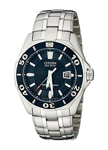 腕時計 シチズン 逆輸入 海外モデル 海外限定 BL1258-53L 【送料無料】Citizen Men's BL1258-53L The Signature Collection Blue Dial Stainless Steel Watch腕時計 シチズン 逆輸入 海外モデル 海外限定 BL1258-53L