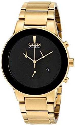 シチズン 逆輸入 海外モデル 海外限定 アメリカ直輸入 AT2242-55E 【送料無料】Citizen Men's AT2242-55E Axiom Eco-Drive Gold-Tone Bracelet Watchシチズン 逆輸入 海外モデル 海外限定 アメリカ直輸入 AT2242-55E