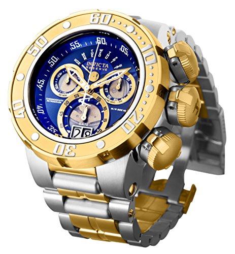 腕時計 インヴィクタ インビクタ リザーブ メンズ 21605 【送料無料】Invicta Men's Reserve Silver and Gold Quartz Watch with Stainless-Steel Strap, Two Tone, 30 (Model: 21605)腕時計 インヴィクタ インビクタ リザーブ メンズ 21605