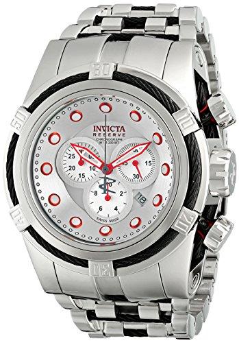 インヴィクタ インビクタ リザーブ 腕時計 メンズ 14064 【送料無料】Invicta Men's 14064 Bolt Reserve Chronograph Silver Dial Stainless Steel Watchインヴィクタ インビクタ リザーブ 腕時計 メンズ 14064
