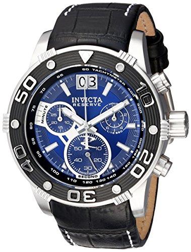 インヴィクタ インビクタ リザーブ 腕時計 メンズ 17374 Invicta Men's 17374 Reserve Analog Display Swiss Quartz Black Watchインヴィクタ インビクタ リザーブ 腕時計 メンズ 17374