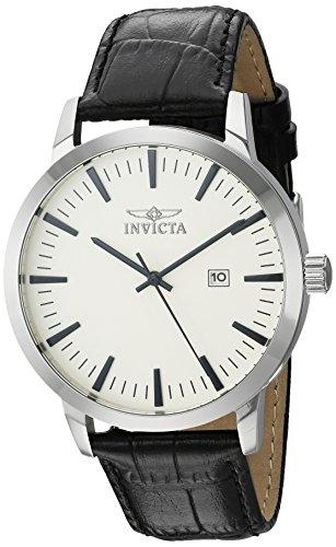 インヴィクタ インビクタ 腕時計 メンズ 22314 【送料無料】Invicta Men's 'Specialty' Quartz Stainless Steel and Leather Casual Watch, Color:Black (Model: 22314)インヴィクタ インビクタ 腕時計 メンズ 22314