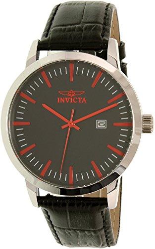 インヴィクタ インビクタ 腕時計 メンズ 22315 Invicta Men's Specialty Stainless Steel Quartz Watch with Leather Calfskin Strap, Brown, 22 (Model: 22315)インヴィクタ インビクタ 腕時計 メンズ 22315
