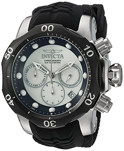 インヴィクタ インビクタ ベノム 腕時計 メンズ 22356 【送料無料】Invicta Men's Venom Stainless Steel Quartz Watch with Silicone Strap, Black, 30 (Model: 22356)インヴィクタ インビクタ ベノム 腕時計 メンズ 22356