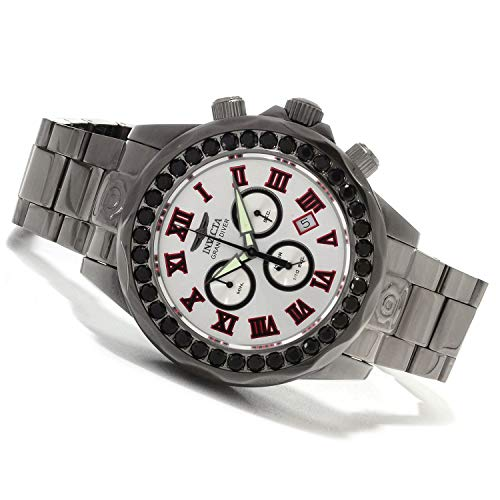 インヴィクタ インビクタ プロダイバー 腕時計 メンズ 14536 Invicta Mens Pro Grand Diver Limited Swiss Black Spinel Accent Gunmetal IP Bracelet Watch 14536インヴィクタ インビクタ プロダイバー 腕時計 メンズ 14536