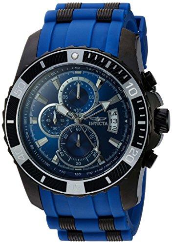 インヴィクタ インビクタ プロダイバー 腕時計 メンズ 22432 Invicta Men's Pro Diver Stainless Steel Quartz Watch with Polyurethane Strap, Blue, 26 (Model: 22432)インヴィクタ インビクタ プロダイバー 腕時計 メンズ 22432