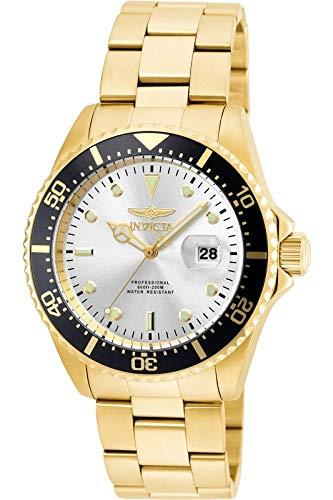 インヴィクタ インビクタ プロダイバー 腕時計 メンズ 22064 Invicta Men's Pro Diver Quartz Watch with Stainless Steel Strap, Gold, 22 (Model: 22064)インヴィクタ インビクタ プロダイバー 腕時計 メンズ 22064
