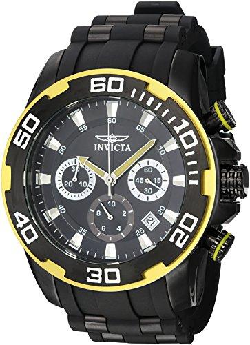 インヴィクタ インビクタ プロダイバー 腕時計 メンズ 22309 Invicta Men's Pro Diver Black Polyurethane Band Steel Case Quartz Analog Watch 22309インヴィクタ インビクタ プロダイバー 腕時計 メンズ 22309