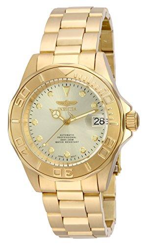 腕時計 インヴィクタ インビクタ プロダイバー メンズ 17054 【送料無料】Invicta Men's 17054 Pro Diver Automatic 18k Gold Ion-Plated Stainless Steel Watch腕時計 インヴィクタ インビクタ プロダイバー メンズ 17054