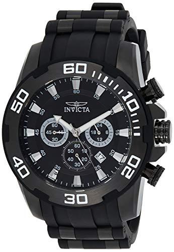 インヴィクタ インビクタ プロダイバー 腕時計 メンズ 22338 【送料無料】Invicta Men's Pro Diver Stainless Steel Quartz Watch with Silicone Strap, Black, 26 (Model: 22338)インヴィクタ インビクタ プロダイバー 腕時計 メンズ 22338