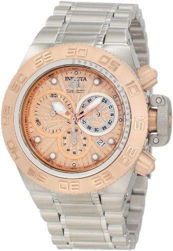 インヴィクタ インビクタ サブアクア 腕時計 メンズ 10142 Invicta Men's 10142 Subaqua Noma IV Chronograph Rose Gold Tone Textured Dial Watchインヴィクタ インビクタ サブアクア 腕時計 メンズ 10142