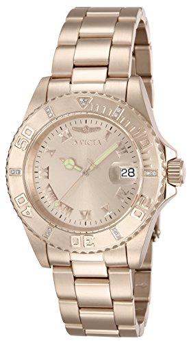 インヴィクタ インビクタ プロダイバー 腕時計 メンズ 12821 【送料無料】Invicta Men's 12821 Pro Diver Rose Dial Diamond Accented Watchインヴィクタ インビクタ プロダイバー 腕時計 メンズ 12821